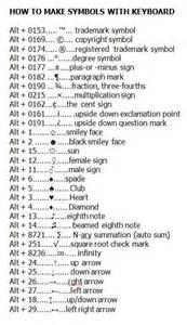best 25 keyboard symbols ideas on computer