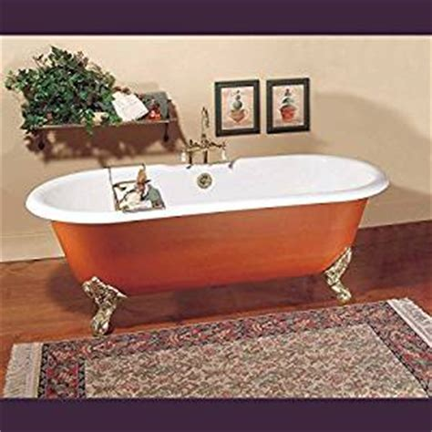 painting a porcelain bathtub amazon com black cast iron clawfoot tub interior