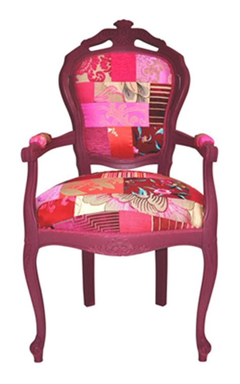 Patchwork Covered Chairs - patchwork cured my indecision