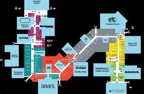 gurnee mills map gurnee mills map map3