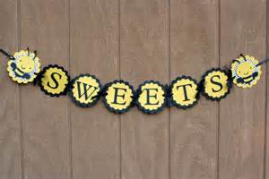 bumble bee sweets banner bee birthday banner bee baby shower