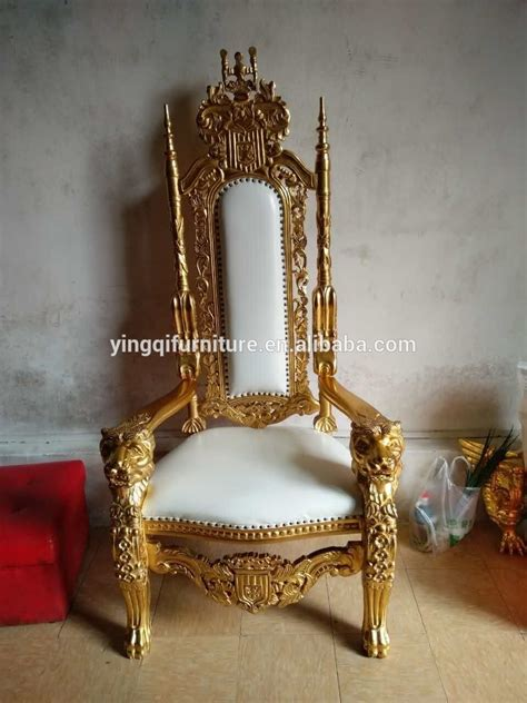 style wedding royal king throne chairs for sale