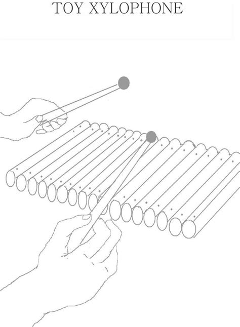 coloring pages xylophone xylophone coloring pages