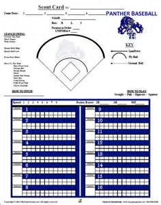 Baseball Scouting Report Template by Blank Baseball Scouting Chart Pictures To Pin On