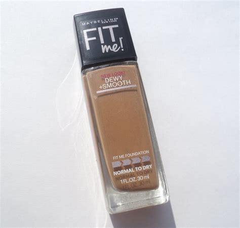 Maybelline Smooth maybelline fit me dewy smooth foundation review