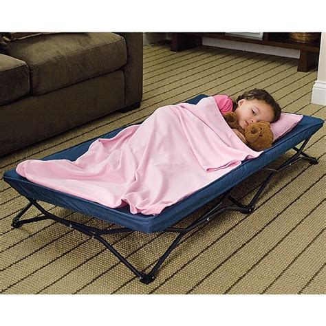 travel toddler bed my cot portable travel bed for the kids pinterest
