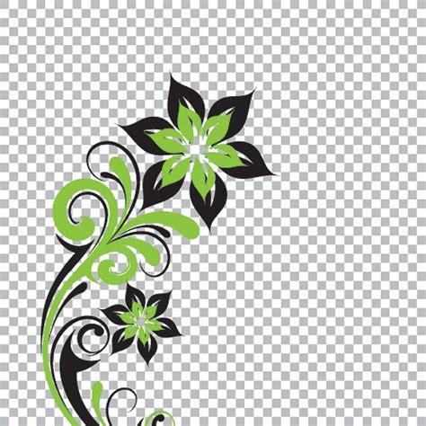 flower design eps 11 vector clip art transparent background png images