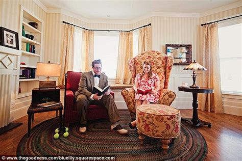 Up Chairs Pixar Lisa And Geoff Bardot Re Create Scenes From Disney S Up In