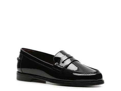 womens loafers dsw ralph collection irina patent leather loafer