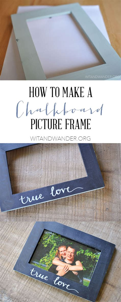 diy chalkboard picture frame diy chalkboard picture frame our handcrafted