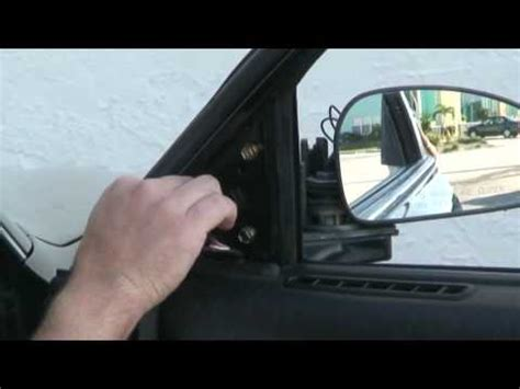 side view mirror replacement  youtube