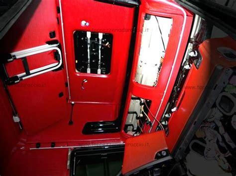 scania r730 interni cabina scania r730 galiani tappezzeria duraccio