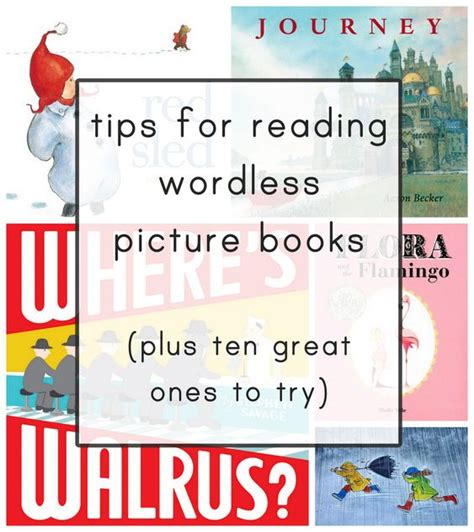 list of wordless picture books the world s catalog of ideas
