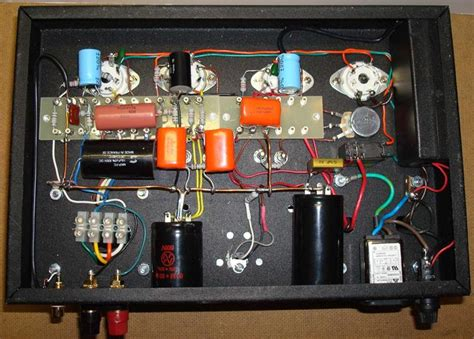Handmade Lifier - 12ax7 vacuum schematics 12ax7 get free image about
