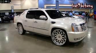All White Cadillac All White Cadillac Escalade Ext On 28 Forgiatos Wheels
