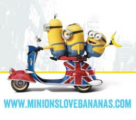 Minions love bananas home
