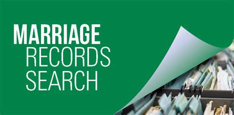 How To Find Marriage Records In Marriage Records Database