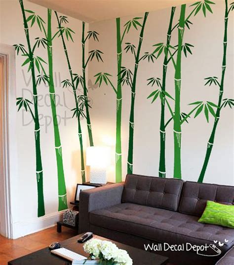bamboo wall decals tree wall decal wall sticker vinyl