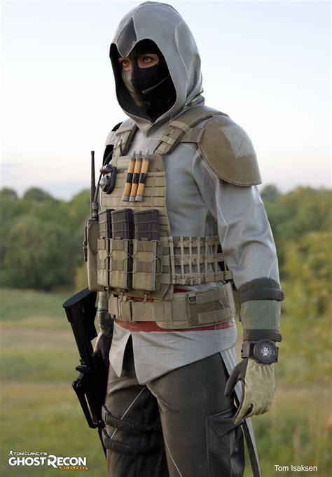 Jaket Army Assasins Creed Recon 1 artstation ghost recon wildlands octane renders tom