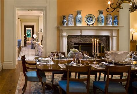 bunny williams dining rooms pin by distinctivefireplaces com on blue and white