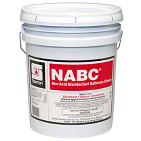 acid bathroom cleaner nabc non acid bathroom cleaner miscellaneous horizon distributors inc