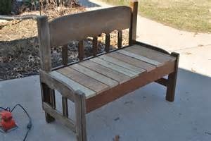 sparta savings recycled headboard bench