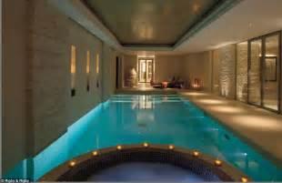 basement swimming pool a temple to modern interior design former knightsbridge