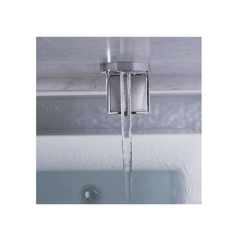 ceiling mount tub filler faucet k 922 cp in polished chrome by kohler