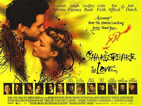 shakespeare in love 1998 comedy movies full english shakespeare in love movie poster 3 of 4 imp awards