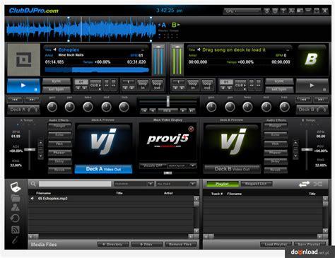 club dj software free download full version clubdj provj 5 1 5 5 download