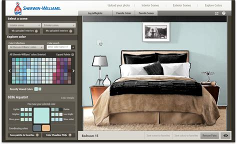 sherwin williams color visualizer tool 7 painting apps to help you create inspiring palettes