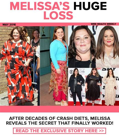 melissa mccarthy weight loss mccarthy reveals the secret 1000 images about fitness on pinterest p90x cardio and