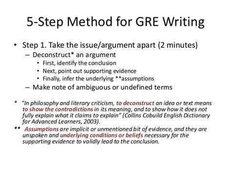 Analytical Argument Essay Sle by Sle Gre Issue Essays 28 Images Sle Essays Gmat