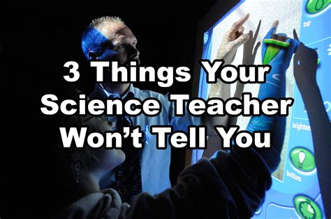 things they won t tell you the solution books 3 things your science won t tell you now is the day