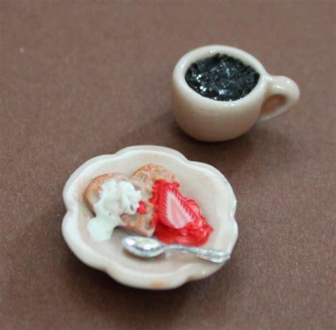 Miniatur Wafel waffel essen swisttaler puppenstuebchen