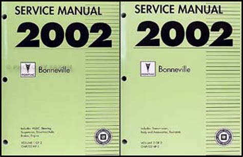 service repair manual free download 2004 pontiac bonneville windshield wipe control service manual service repair manual free download 2002 pontiac bonneville free book repair