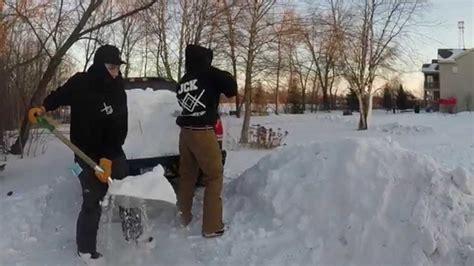 backyard skiing backyard snowboard ski competition youtube
