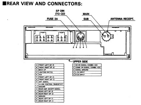 radio gm diagram wire up up9 gm auto parts catalog