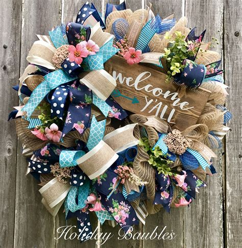 yall  holiday baubles wreaths  wreath