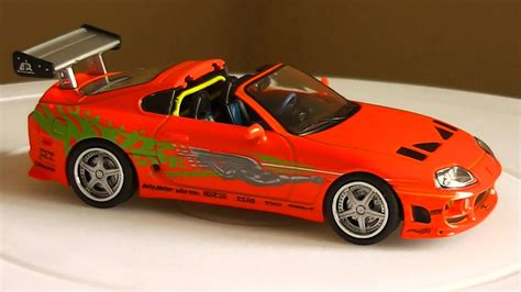 Why Are Toyota Supras So Fast Toyota Supra Fast And Furious 1 43 Greenlight