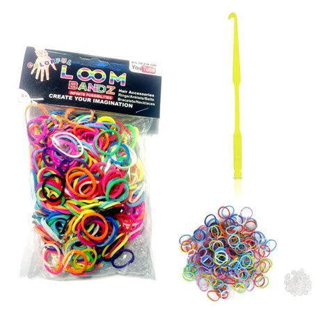 Refill Ring O Rainbow Loom Sembur rc1 6x rubber charms pendant w ring for rainbow loom