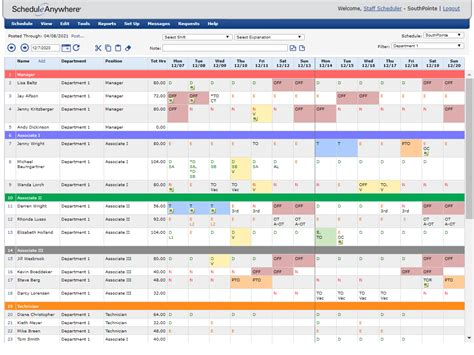 template for employee schedule agi mapeadosencolombia co