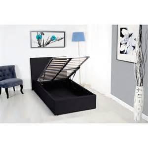lit avec coffre de rangement 140 x 190 cm