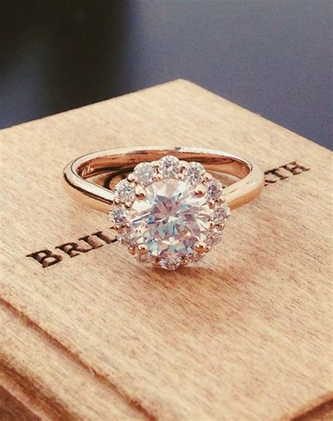 12 impossibly beautiful rose gold wedding engagement rings