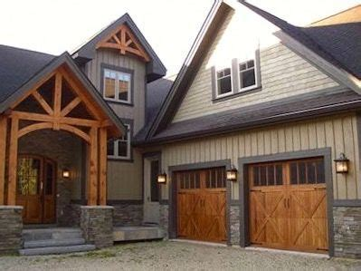 taupebeige home  cedar timber accents cottage