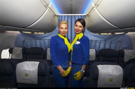 Cabin Crew International Airlines by Ur Psr Ukraine International Airlines Boeing 737 800 At
