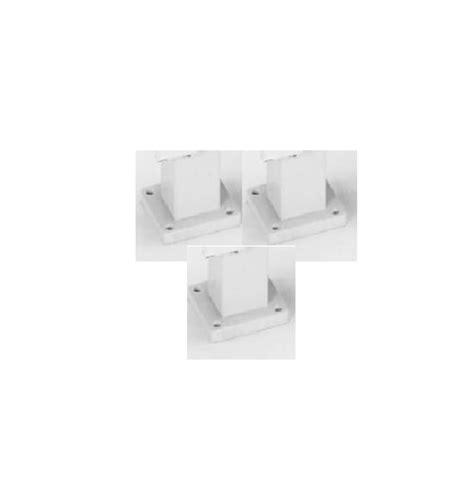 qmark pedestal heater qmark heater white cph series pedestal leg kit for 5 6