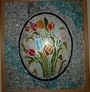 Stained Glass Window Paint The Craft Gallery Stained Glass Painting Flowers