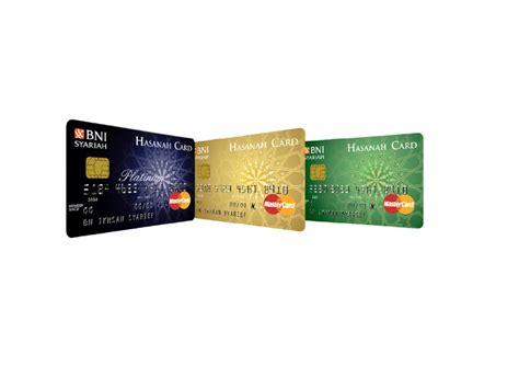 hasanah card kartu kredit syariah dari bni syariah