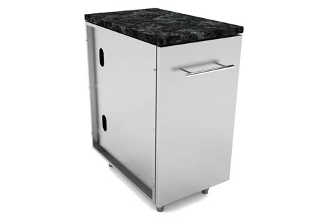Stainless steel Cabinets Trash Drawer Cabinets